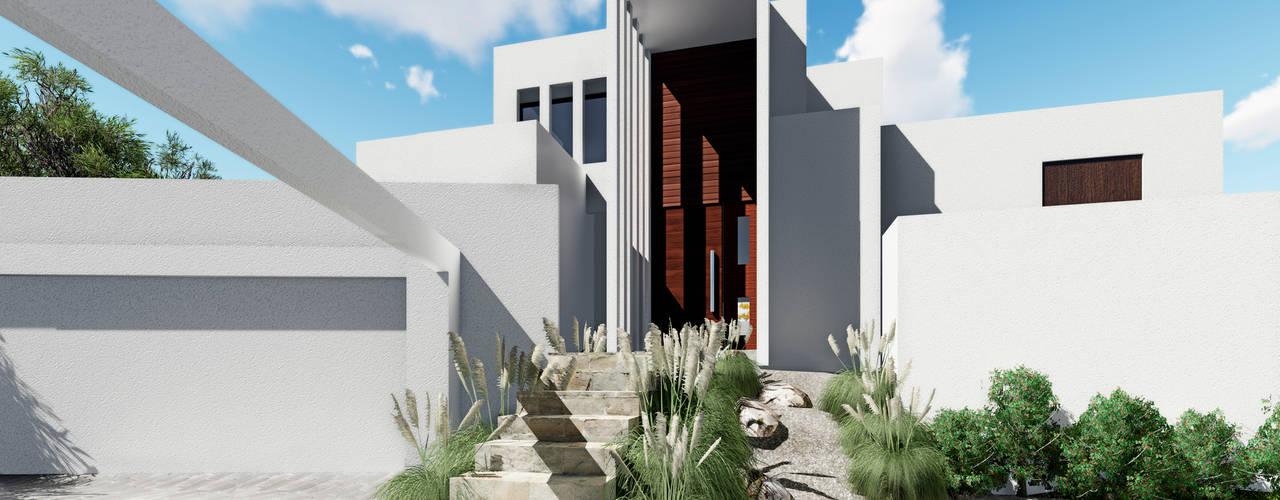 CASA PV Casas de estilo mediterráneo de NEF Arq. Mediterráneo