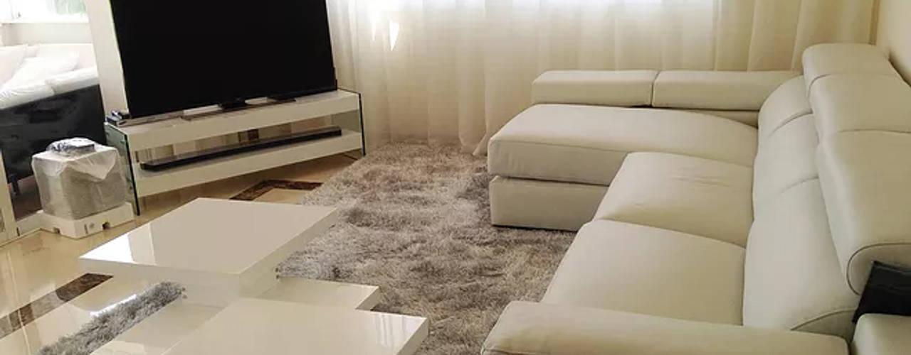 Salón Moderno Cristina Lobo SalonesSofás y sillones
