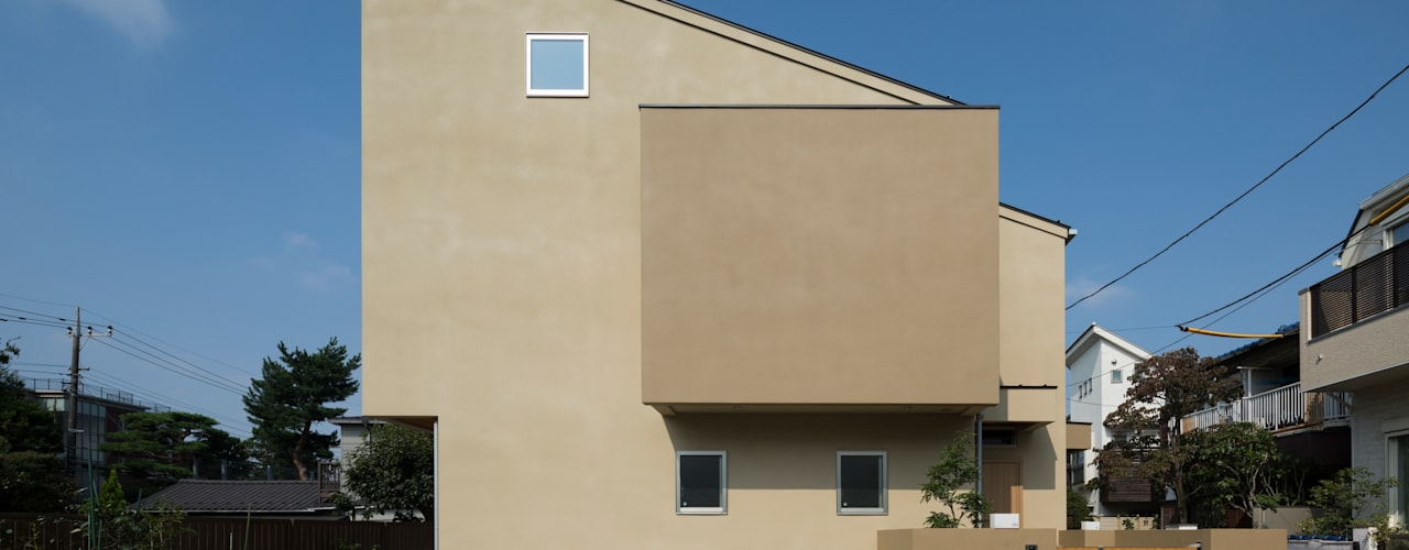 Tongari-15: W.D.Aが手掛けた家です。
