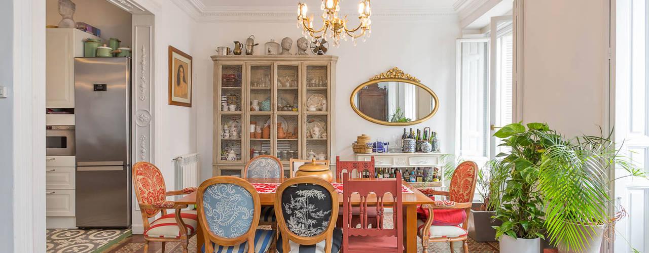 غرفة السفرة تنفيذ CABALLERO Fotografía de Arquitectura, Inmobiliaria e Interiorismo