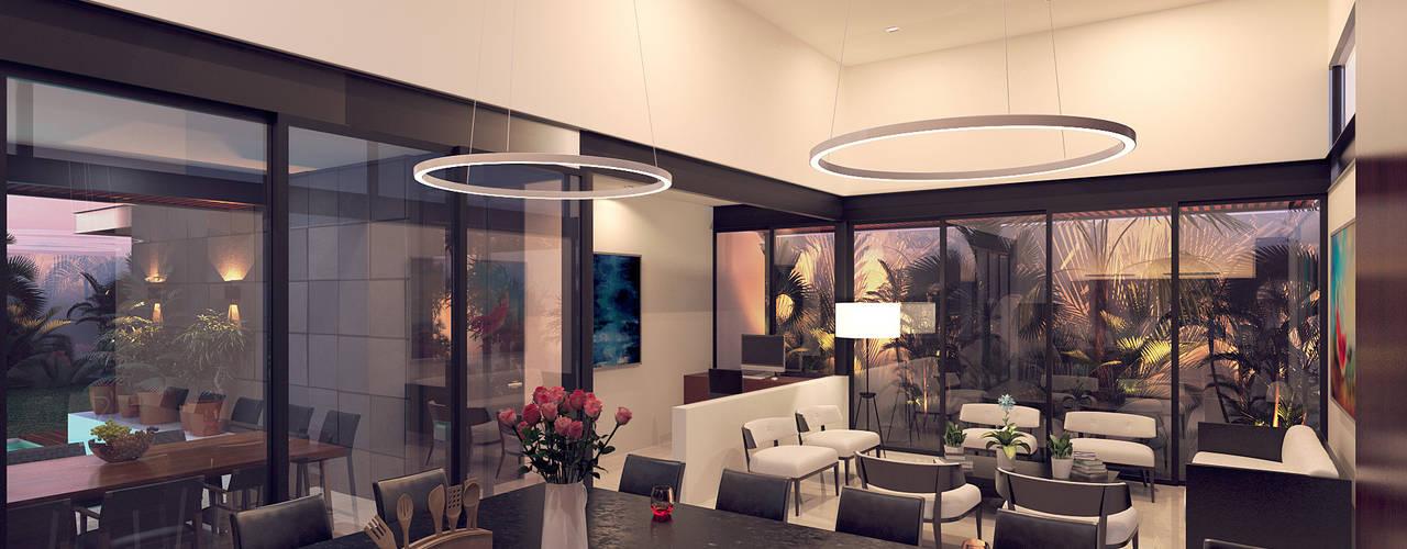 Casa VMC de Heftye Arquitectura Moderno
