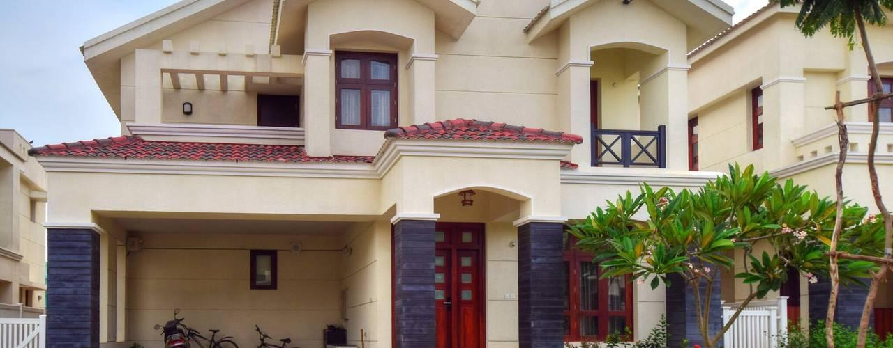 the villa:  Houses by Team Kraft