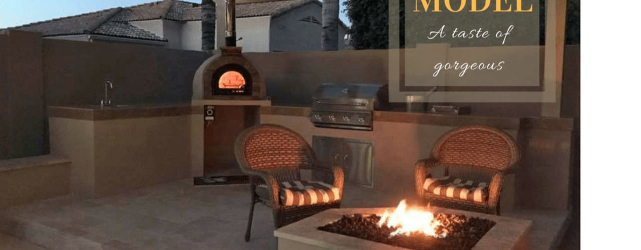 Wood - fired pizza oven by Dome Ovens® Mediterranean