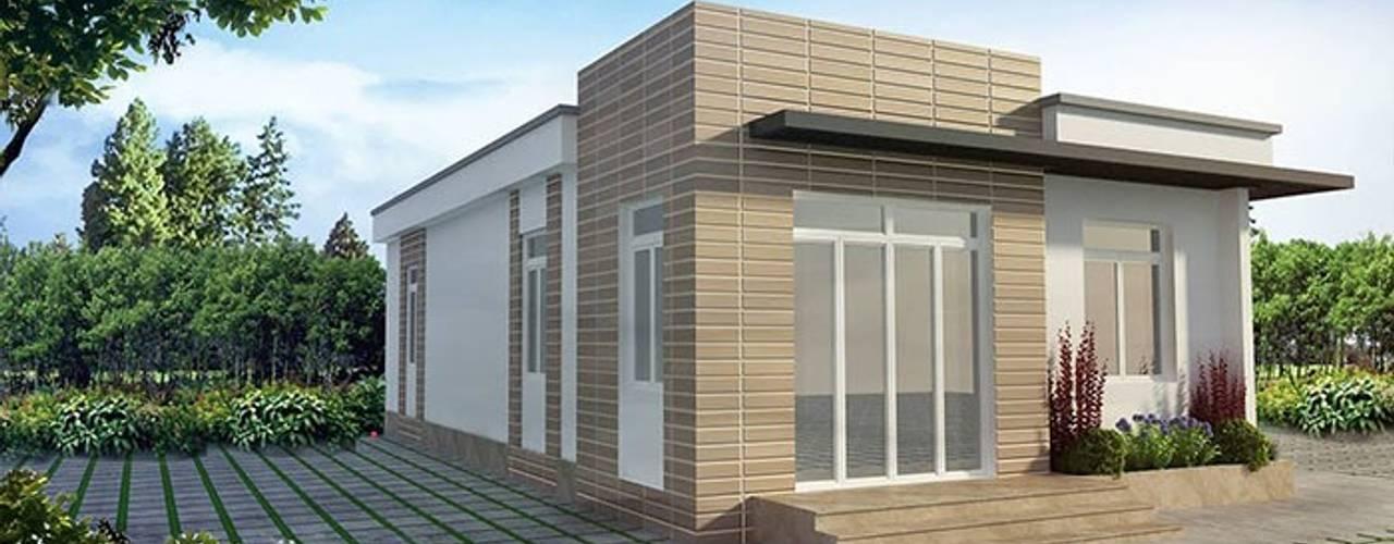 Casas unifamiliares de estilo  por Công ty TNHH Xây Dựng TM – DV Song Phát,