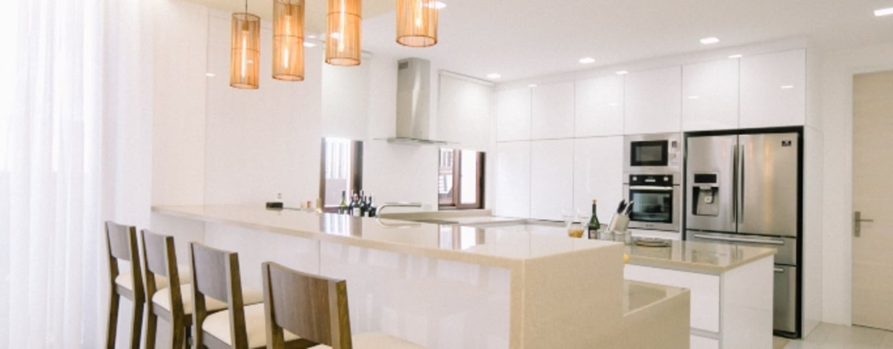 WW House Living Innovations Design Unlimited, Inc. Kitchen
