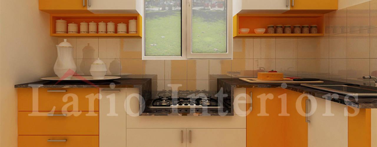 Modular kitchen:   by Lario interiors