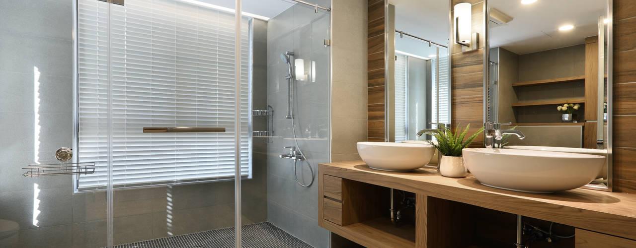 人文自然派的no.229舍-場景-更衣/衛浴:  浴室 by 喬克諾空間設計,