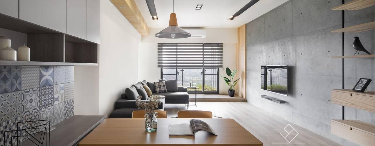 新竹-親家Qest-蕭宅 根據 極簡室內設計 Simple Design Studio 北歐風