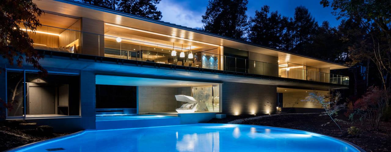 Modern houses by Mアーキテクツ|高級邸宅 豪邸 注文住宅 別荘建築 LUXURY HOUSES | M-architects Modern