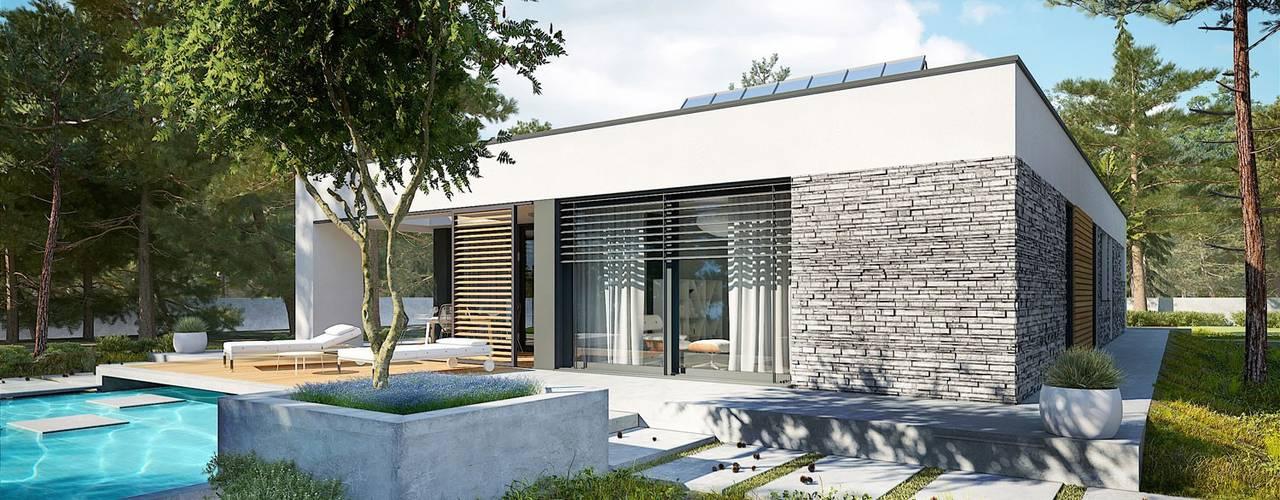 Дома на одну семью в . Автор – Pracownia Projektowa ARCHIPELAG