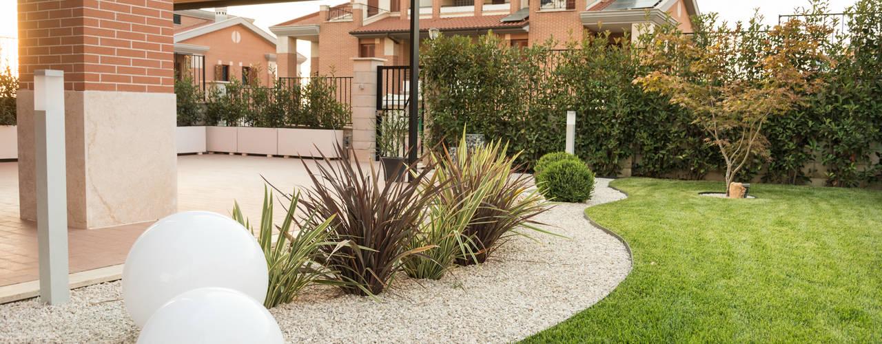 Jardins modernos por AbitoVerde Moderno