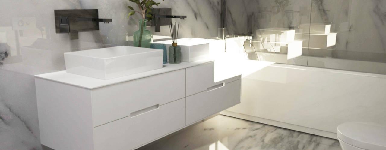 Casas de banho - Smile Bath: Casas de banho modernas por Smile Bath S.A.