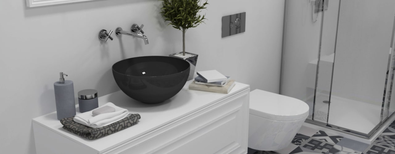 Eclectic style bathroom by Smile Bath S.A. Eclectic