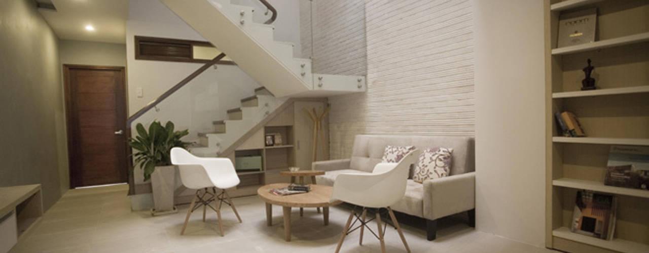 Công ty TNHH Xây Dựng TM – DV Song Phát 现代客厅設計點子、靈感 & 圖片