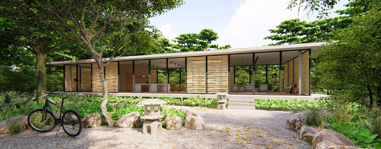 Pavilion K _ p r o g r a m a Casas ecológicas Concreto