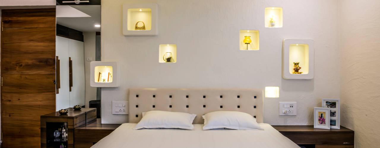 Narang Apartment : Mr. Abhilash Baldota:  Bedroom by Creative Geometry