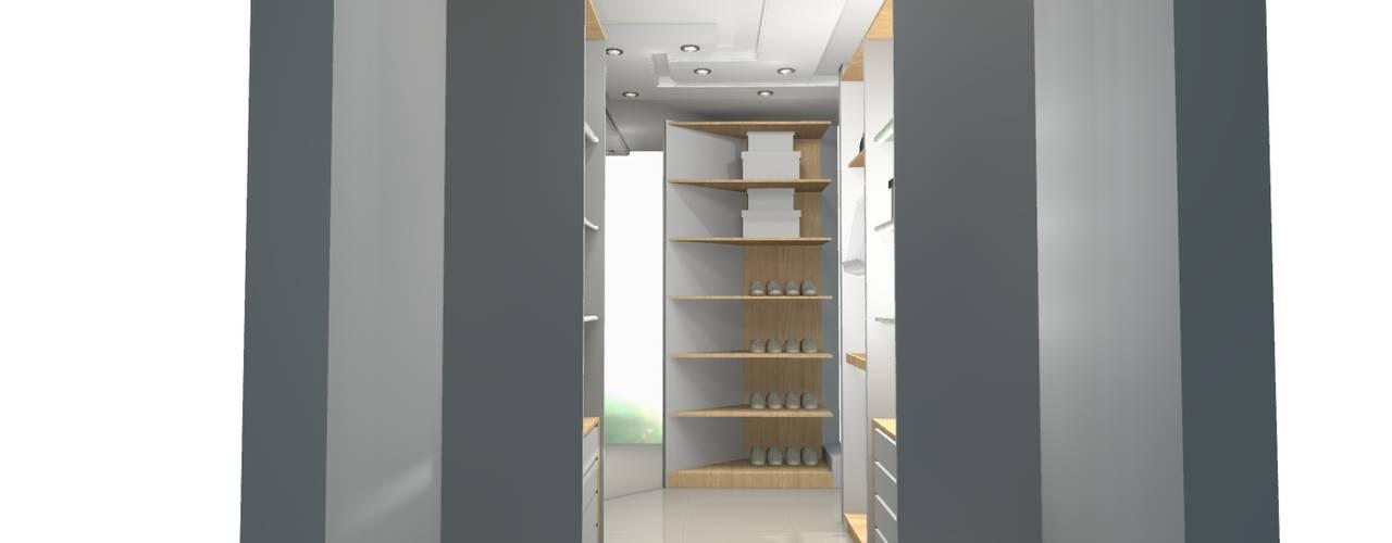 espacios soñados Closets de estilo clásico de Francis estilo Clásico