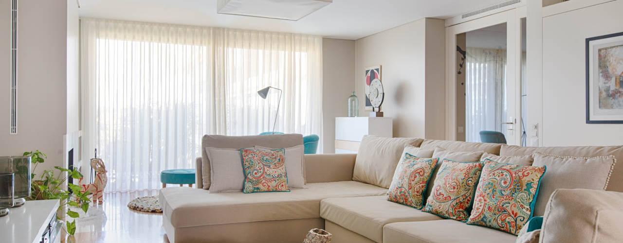 Apartamento Edifício do Parque - T3 MATOSINHOS por ShiStudio Interior Design Escandinavo