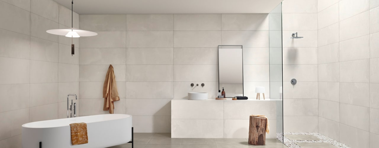 Core Baños de estilo industrial de Love Tiles Industrial
