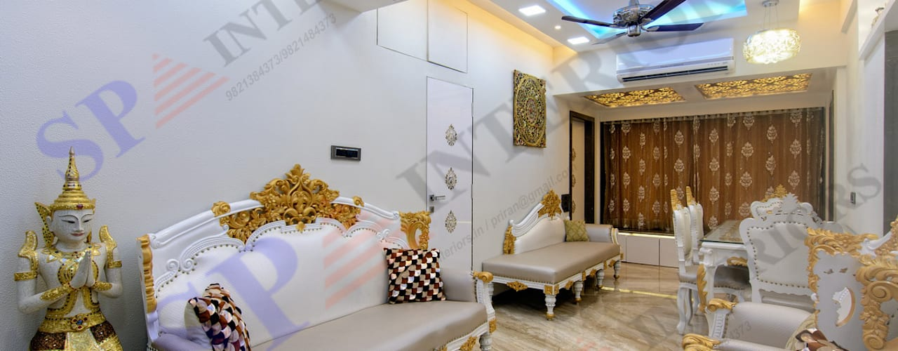 Mr. Gandhi:  Stairs by SP INTERIORS