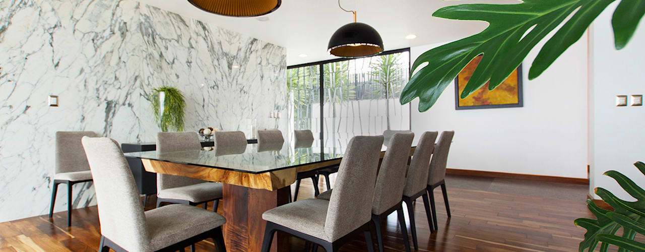 Dining room by Dionne Arquitectos