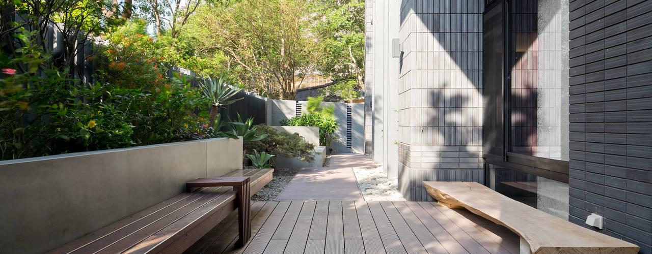 光影靜謐的庭園空間:   by 大地工房景觀公司