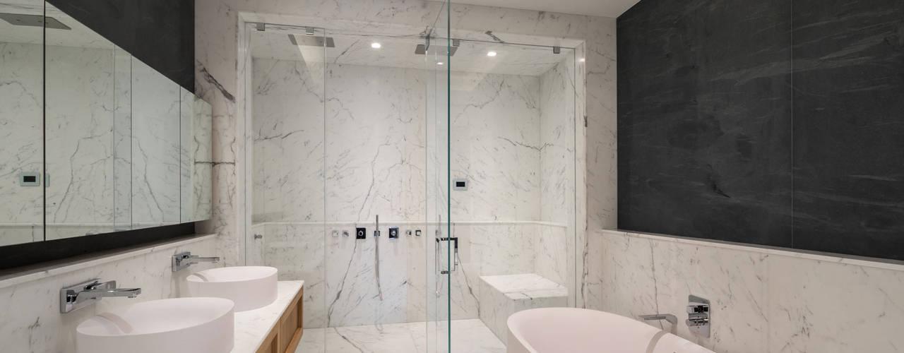 Soho Penthouse GD Arredamenti Bagno moderno Legno massello Variopinto