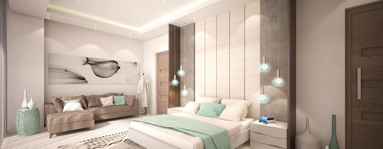 Dessiner Interior Architectural Modern style bedroom