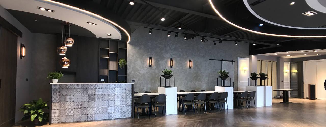 慧智精微成型科技-員工餐廳設計規劃案 根據 見和空間設計 工業風