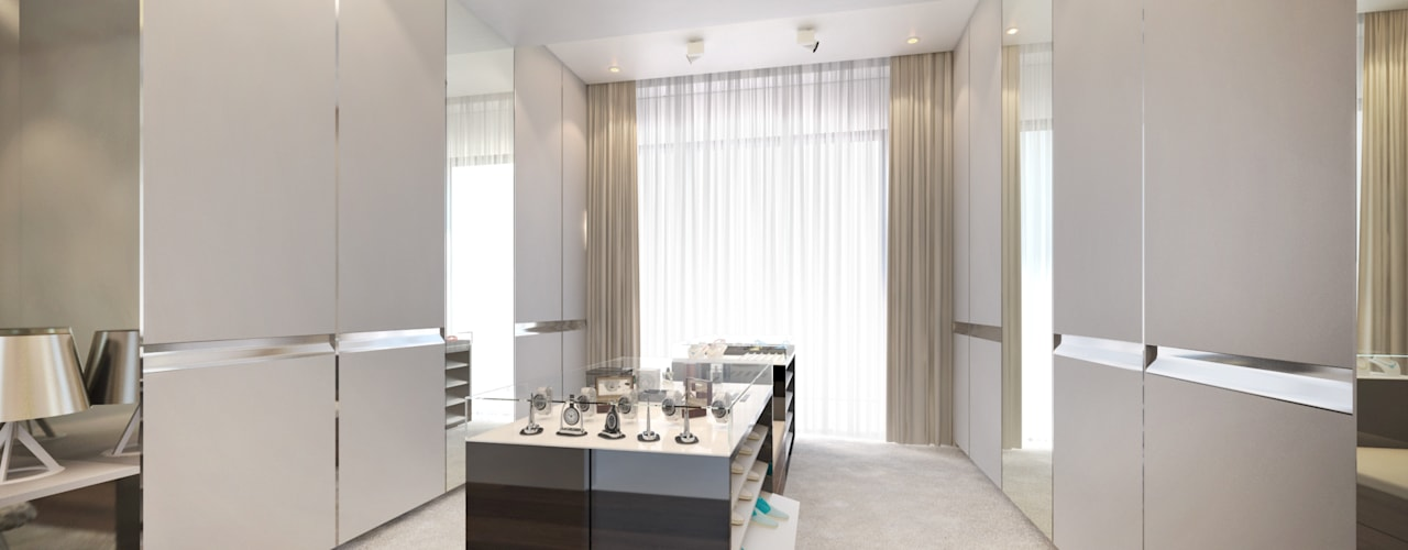 Dessiner Interior Architectural Modern dressing room