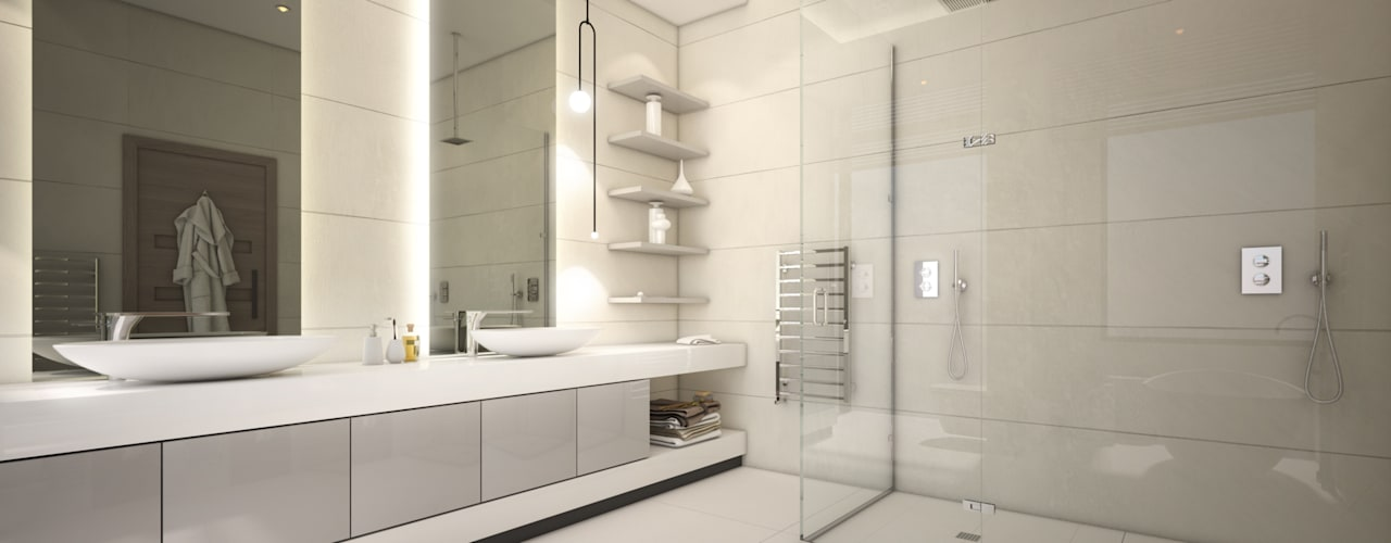 Modern bathroom by Dessiner Interior Architectural Modern
