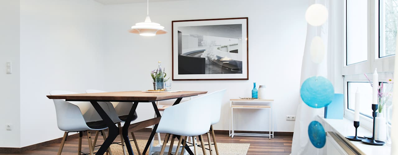 Geschmackvolles Esszimmer:   von Home Staging Bavaria