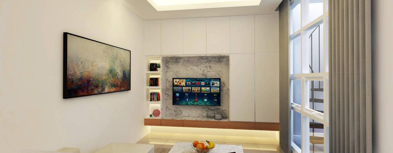 Moderne Wohnzimmer von Mendekor Modern