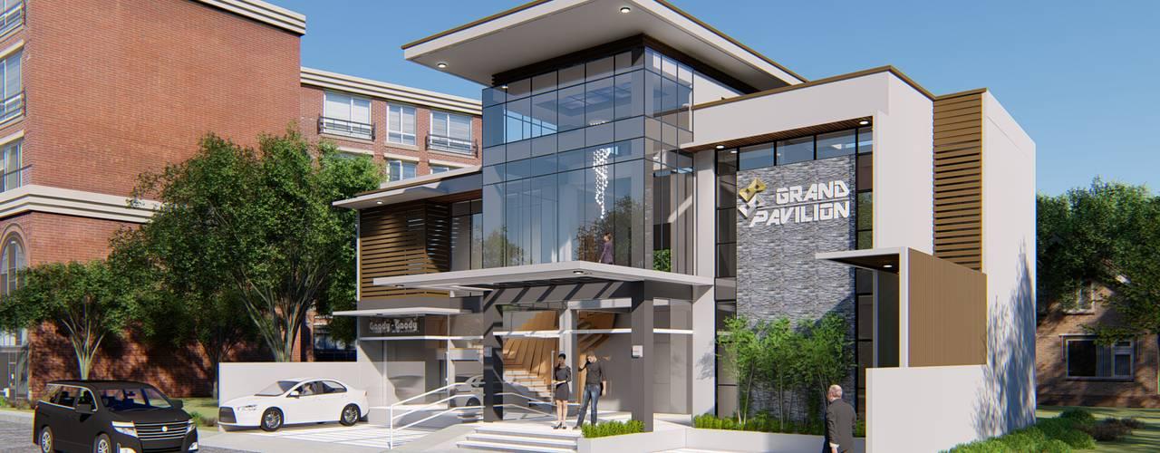 GRAND 88 PAVILION Yaoto Design Studio Modern home