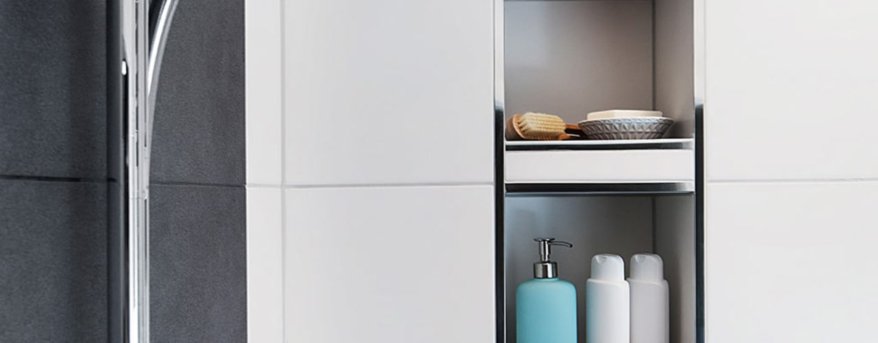 Banovo GmbH Modern bathroom Ceramic White
