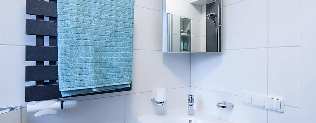 12 fantastische Ideen für kleine Badezimmer