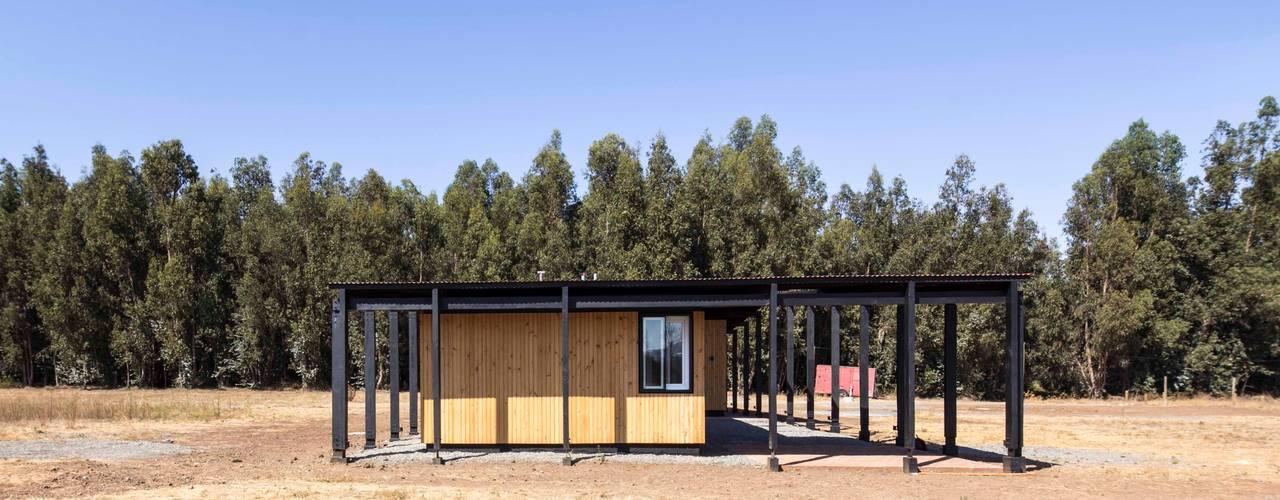 Casa Picarquín de Crescente Böhme Arquitectos Minimalista