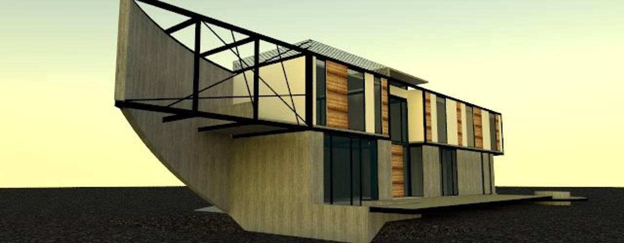 CASA SANTA ESTER de Incubar: Arquitectura & Construcción