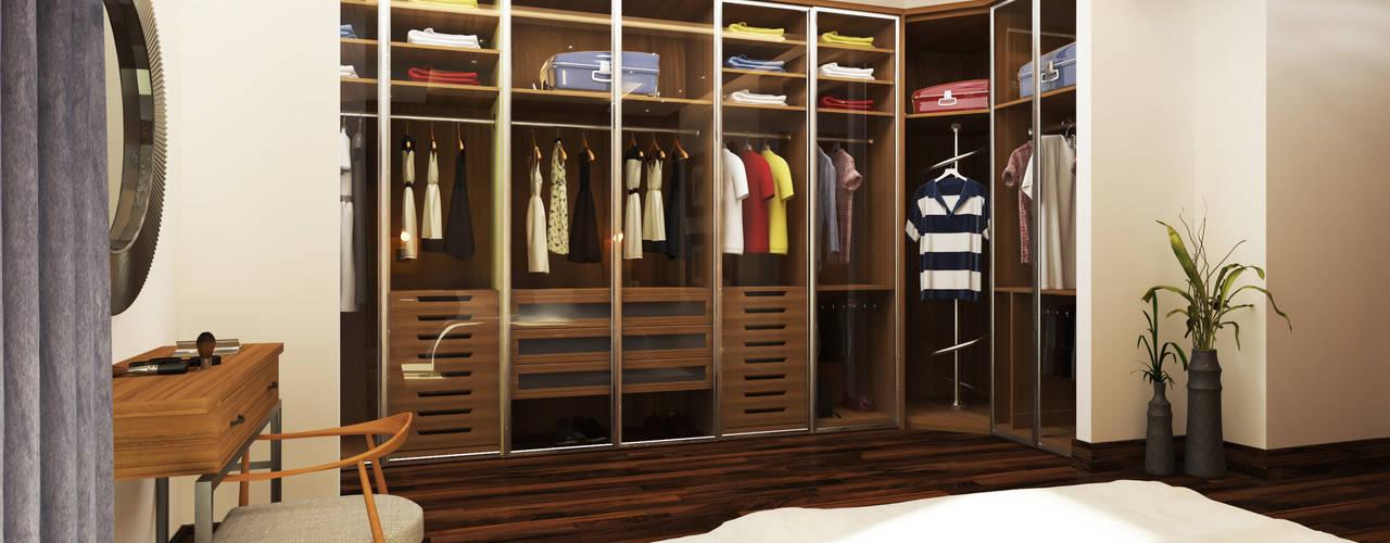 Dressing room by SIGMA Designs, Modern