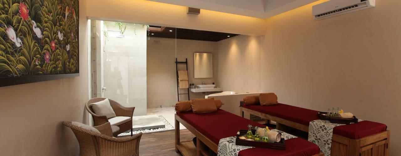 THE BALANCE OF MODERN & TRADITIONAL SPA @ BALI Hotel Tropis Oleh PT. Dekorasi Hunian Indonesia (DHI) Tropis