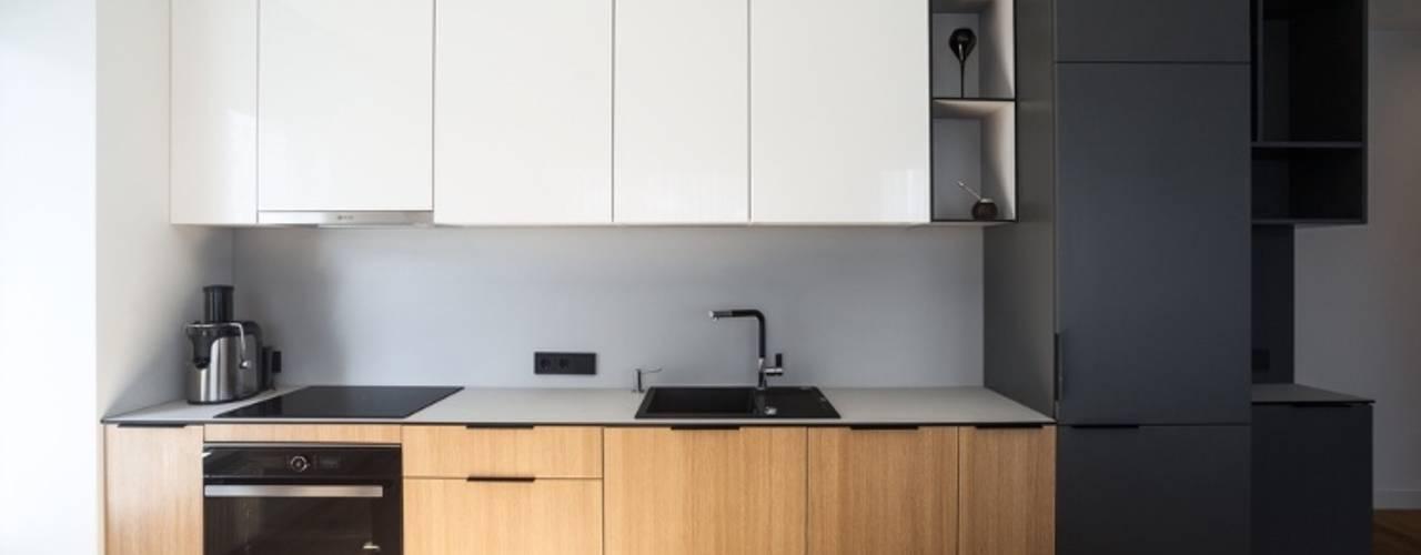 Matt finish kitchens by Rebel Designs Modern