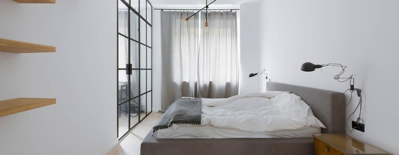 Спальни в . Автор – JJJASKOLA ARCHITEKCI