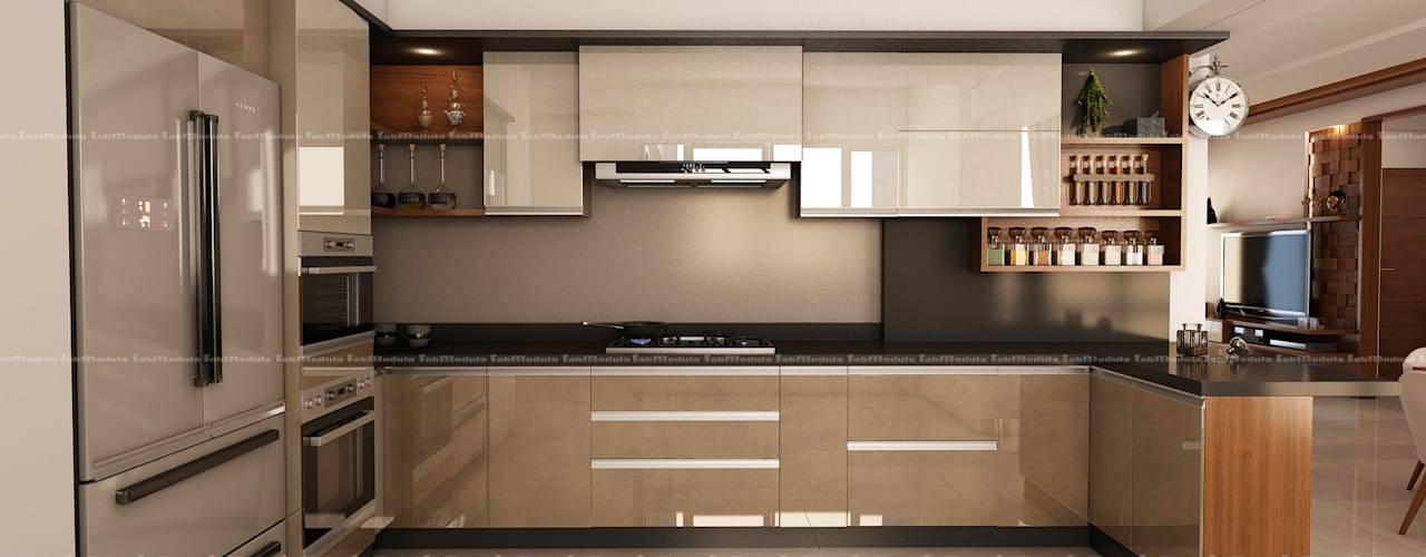 Кухня в стиле модерн от Fabmodula Модерн
