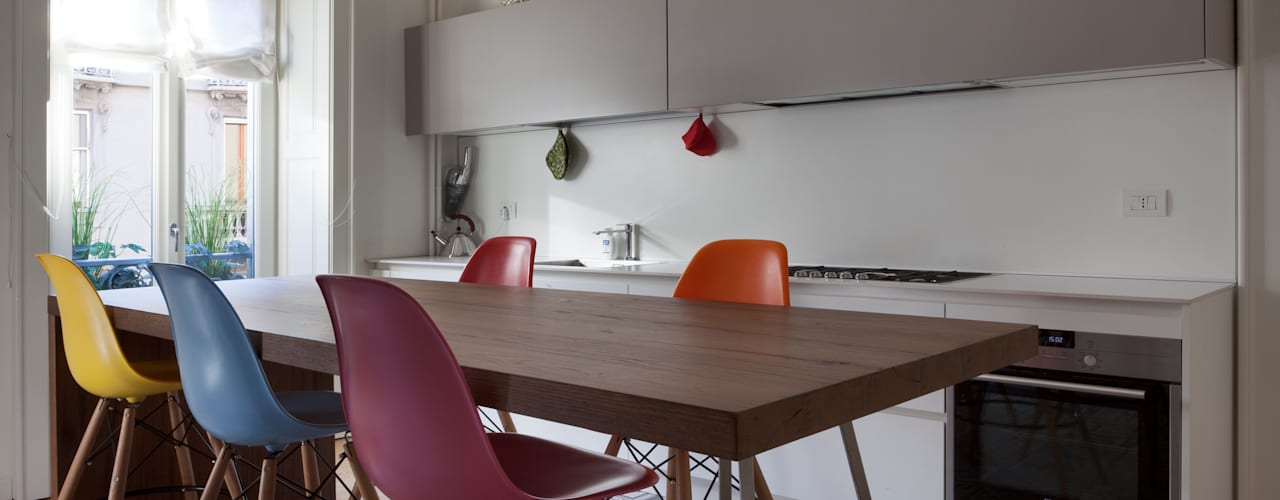 AM Family Flat by Filippo Colombetti, Architetto Modern