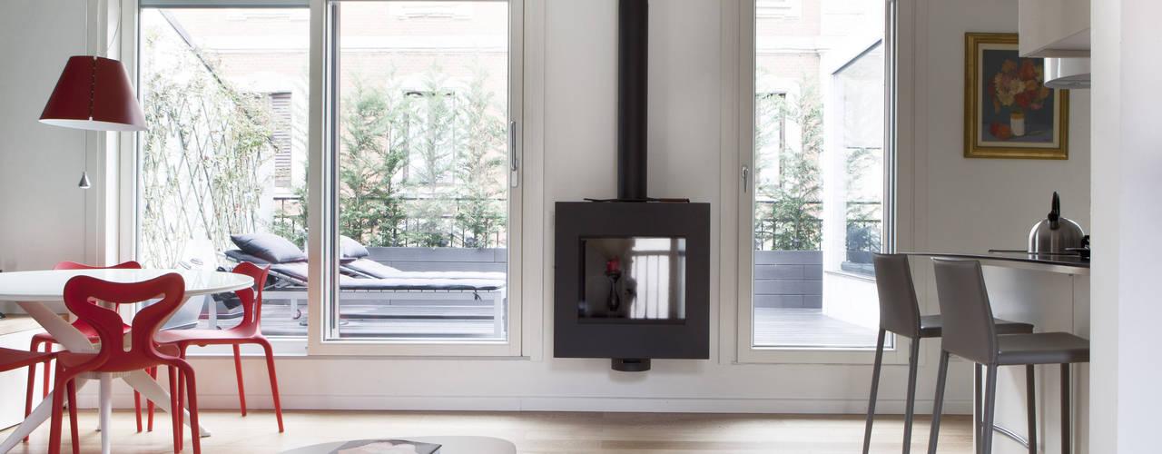 Appartamento tra stile moderno e scandinavo milano for Appartamento stile moderno