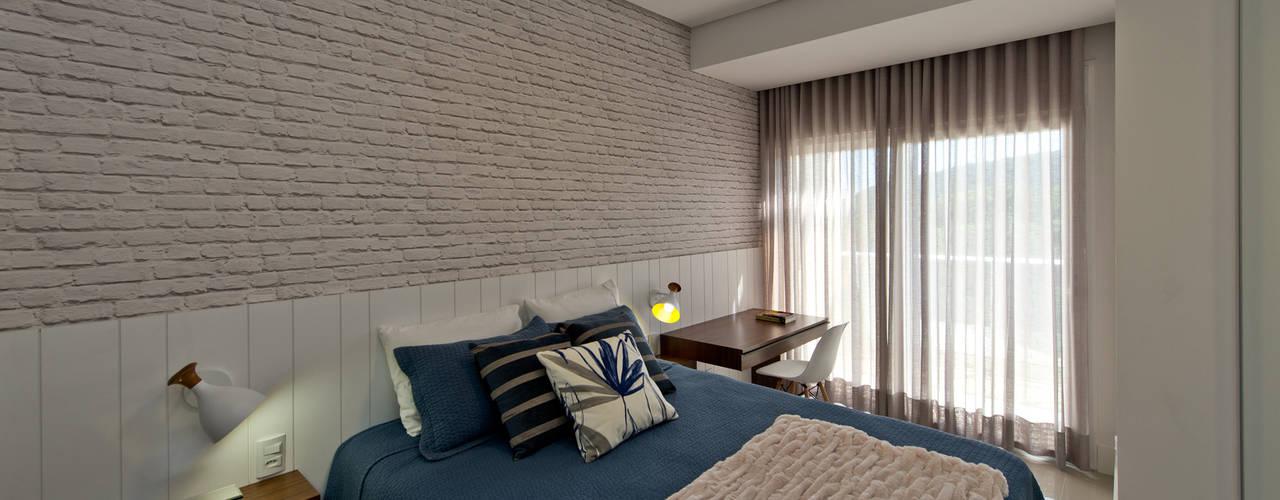 Espaço do Traço arquitetura Industrial style bedroom