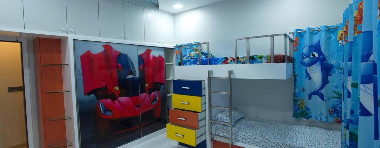 Kids bedroom:  Nursery/kid's room by Hasta architects