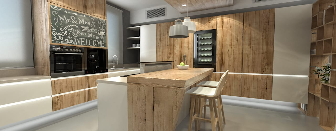 Kitchen by studiosagitair,