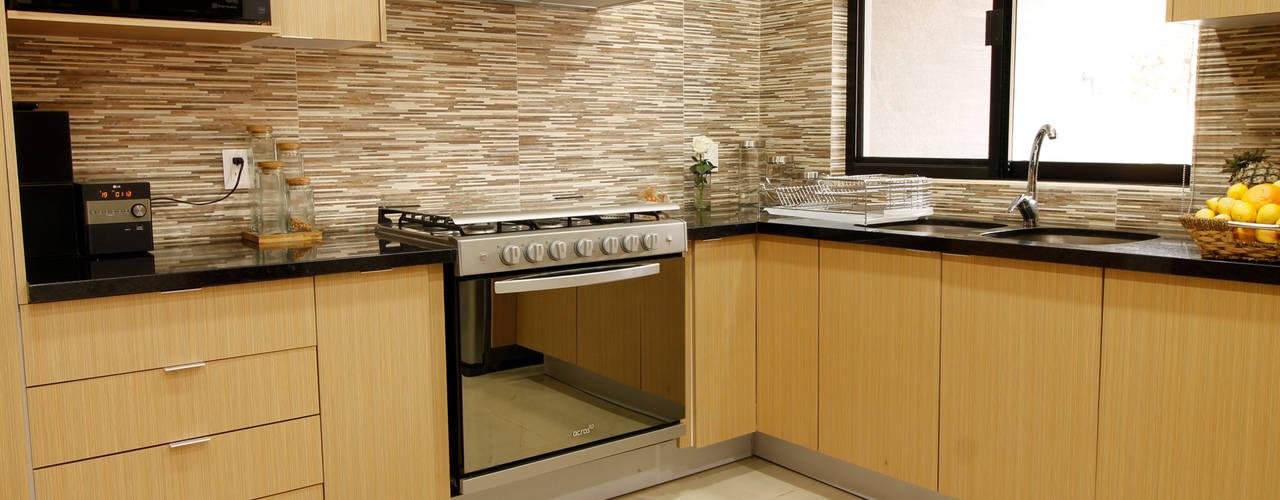 Cocinas equipadas de estilo  por AFG Construcción y Diseño