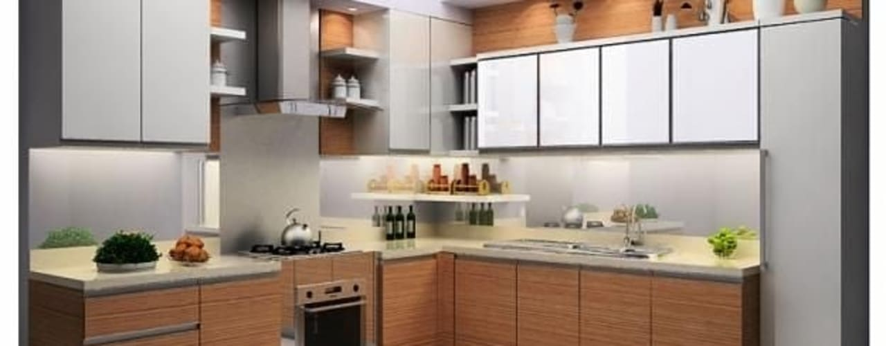 5 Fantastic Modular Kitchen Designs From New Delhi Homes